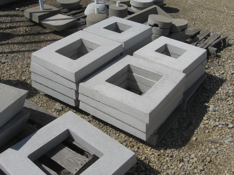 Concrete Chimney Blocks : Air conditioner concrete pads more in chicago il