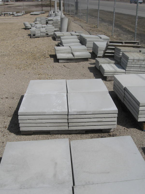 Concrete Slab For Ac : Air conditioner concrete pads more in chicago il
