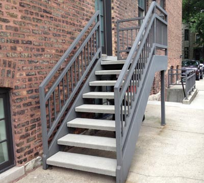 Concrete Stairtreads
