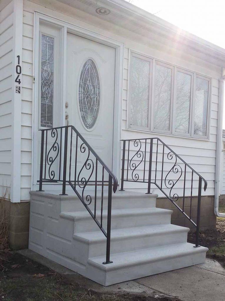custom prescast steps